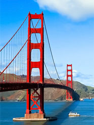 Tour Stati Uniti - Golden Gate Bridge, San Francisco