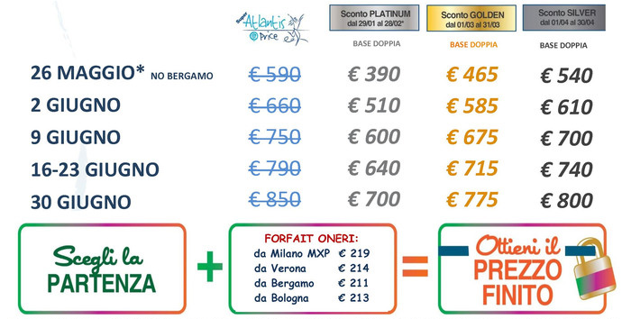 Offerta Atlantis Club Rodi