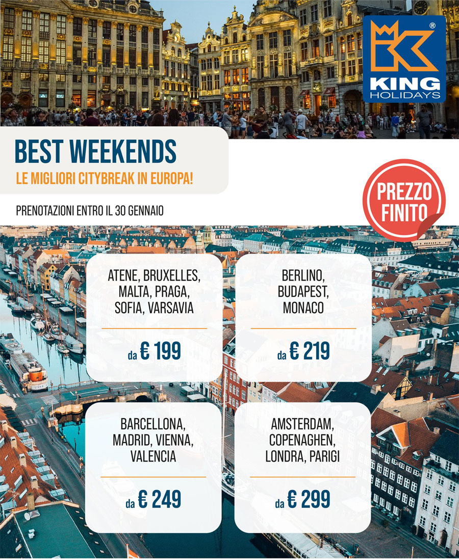 Offerta Weekend in una Capitale Europea
